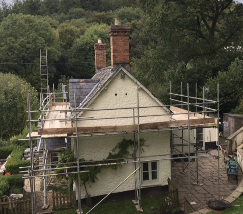 Residential Scaffolding Taunton and Somerset - KNR Scaffolding
