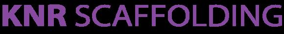 KNR Scaffolding Logo