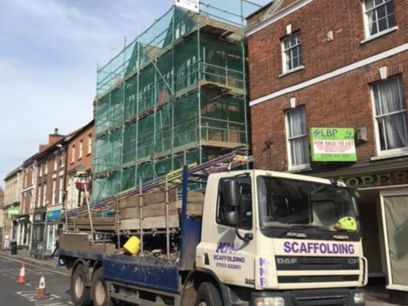 Scaffolding Company Taunton and Somerset - KNR Scaffolding